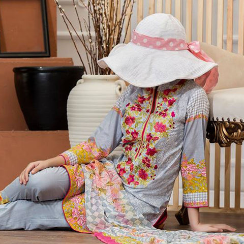 Sauda Saad Embroidered Lawn Suit Vol-01 - 07A - test-store-for-chase-value