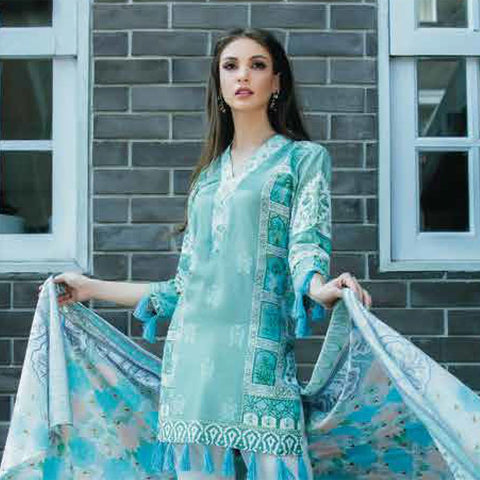 Subhata Printed Lawn Suit 2A - test-store-for-chase-value