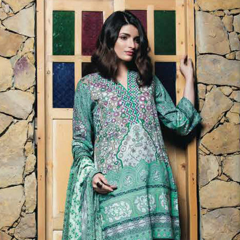 Subhata Printed Lawn Suit 8A - test-store-for-chase-value
