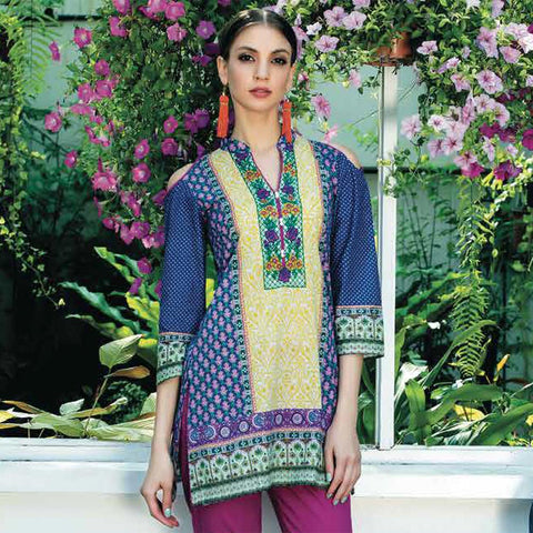 Subhata Printed Lawn Suit 4B - test-store-for-chase-value