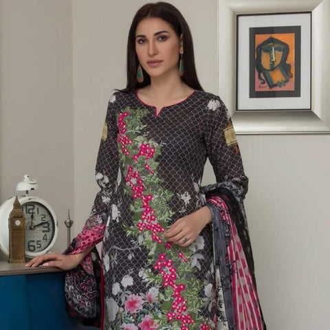 Chase Value Centre Digital Printed Festive Lawn Suit - 02 - test-store-for-chase-value
