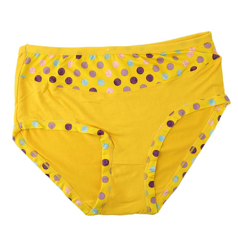 Women's Fancy Panty - Yellow - test-store-for-chase-value