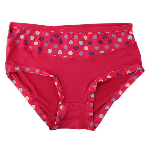 Women's Fancy Panty - Dark-Pink - test-store-for-chase-value