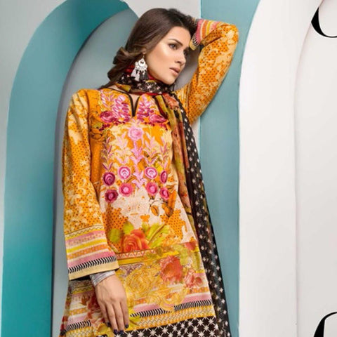 Noor Jahan Embroidered Lawn Suit - 02 - test-store-for-chase-value