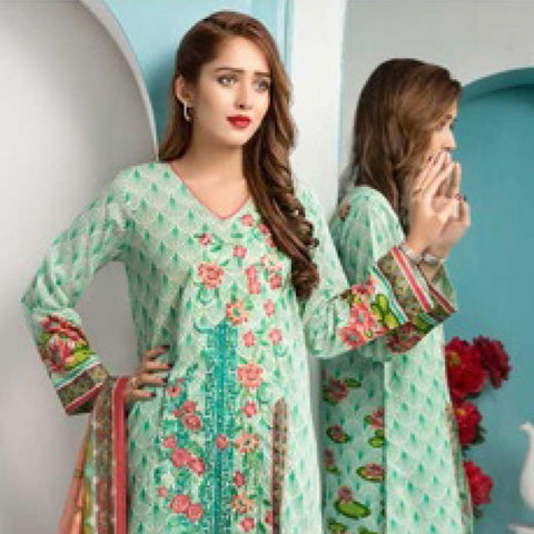 Noor Jahan Embroidered Lawn Suit - 07 - test-store-for-chase-value