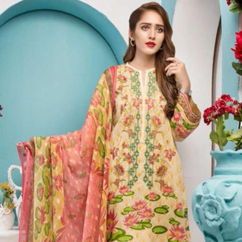 Noor Jahan Embroidered Lawn Suit - 15 - test-store-for-chase-value