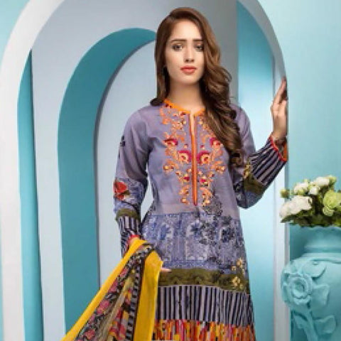 Noor Jahan Embroidered Lawn Suit - 17 - test-store-for-chase-value