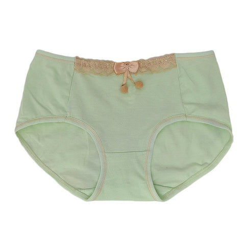 Women's Fancy Panty - Light Green - test-store-for-chase-value