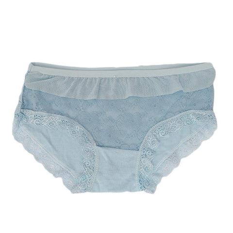 Women's Fancy Panty - Light Blue - test-store-for-chase-value