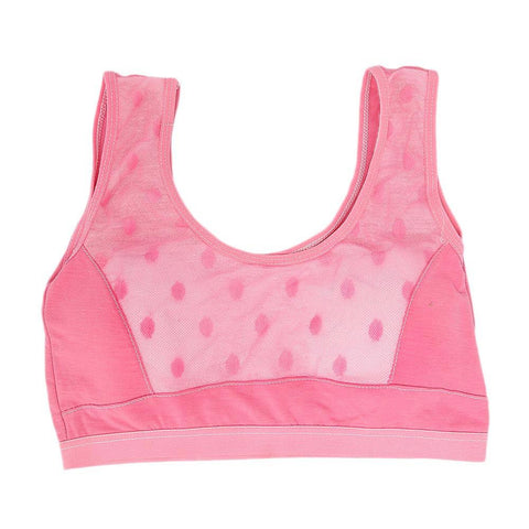 Girls Biddies Foam Bra - Pink - test-store-for-chase-value