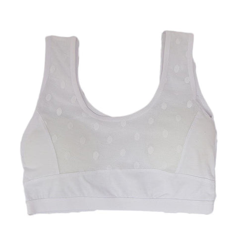 Girls Biddies Foam Bra - White - test-store-for-chase-value