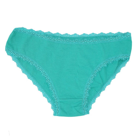 Women's Net Lace Panty - Green - test-store-for-chase-value