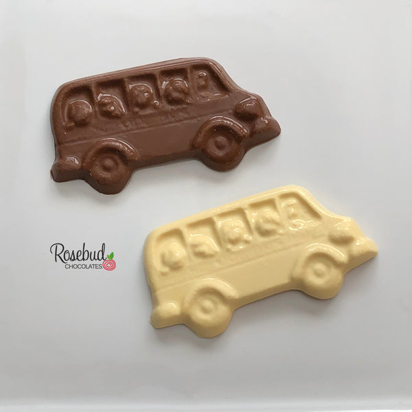 12 SCHOOL BUS Chocolate Candy Party Favors