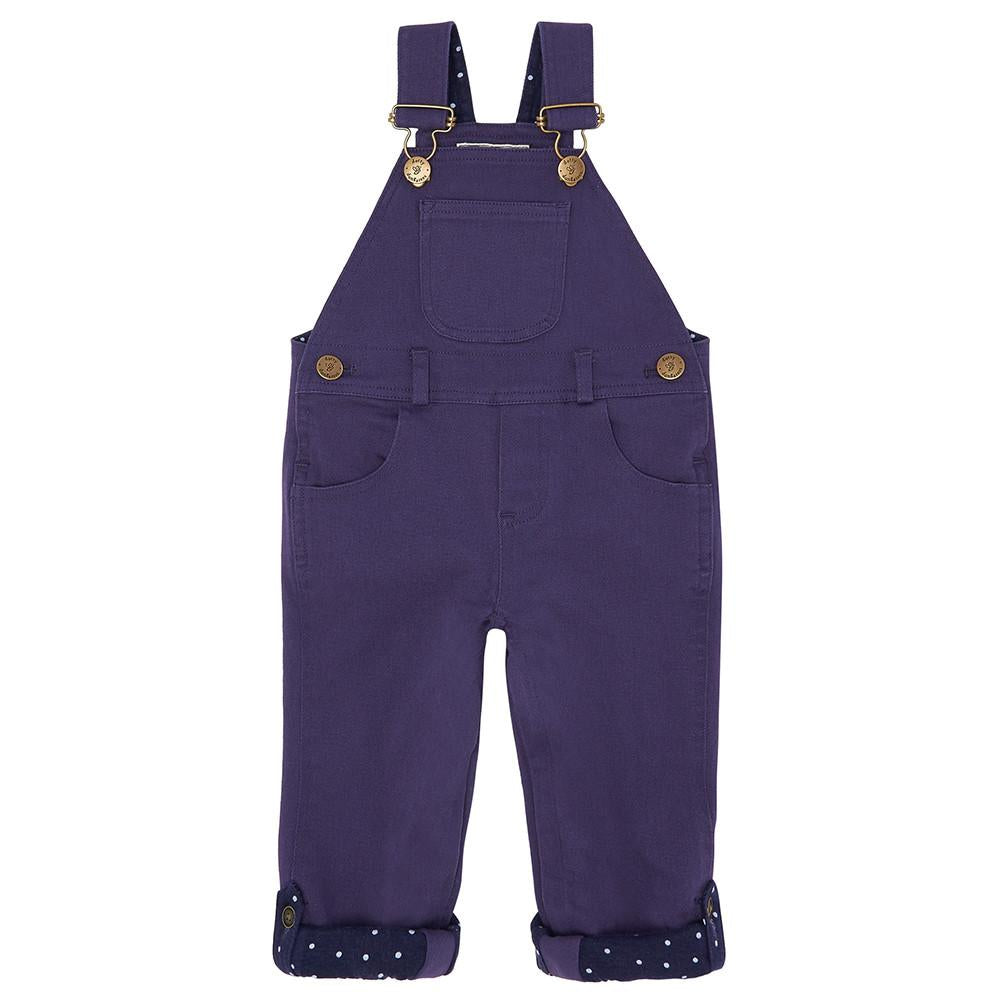 Midnight Blue Denim Dungarees