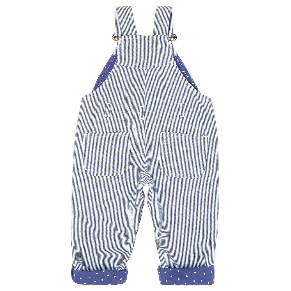 Dotty Dungarees - Otto Stripe Dungarees
