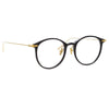 Linda Farrow Linear 02A C1 Oval Optical Frame