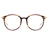 Linda Farrow Linear 02A C3 Oval Optical Frame