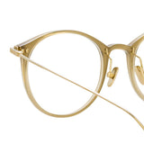 Linda Farrow Linear 02 C7 Oval Optical Frame