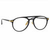 Linda Farrow Linear 23 C1 Aviator Optical Frame