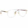 Linda Farrow Linear 23A C4 Aviator Optical Frame