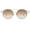 Linda Farrow 825 C5 Oval Sunglasses