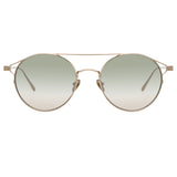 Linda Farrow 825 C6 Oval Sunglasses