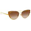 Linda Farrow 855 C2 Cat Eye Sunglasses