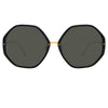 Linda Farrow 901 C1 Oversized Sunglasses