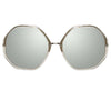 Linda Farrow 901 C5 Oversized Sunglasses