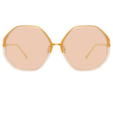 Linda Farrow 901 C6 Oversized Sunglasses