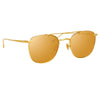 Linda Farrow 922 C1 Square Sunglasses