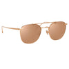 Linda Farrow 922 C3 Square Sunglasses