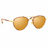 Linda Farrow 954 C3 Aviator Sunglasses