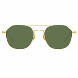 Linda Farrow 977 C4 Square Sunglasses