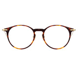 Linda Farrow Linear 08 C3 Oval Optical Frame