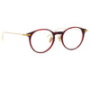 Linda Farrow Linear 08 C4 Oval Optical Frame