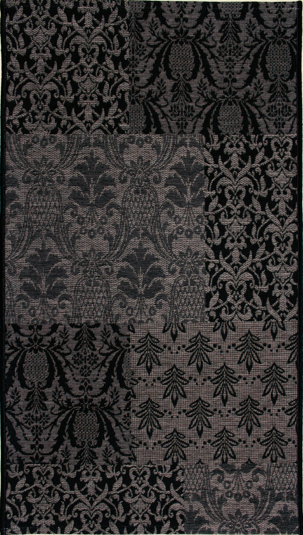 Esterno Tapestry Charcoal Indoor/Outdoor Area Rug