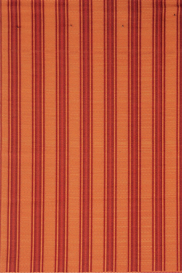 Mad Mats Vertical Stripe Red  Indoor/Outdoor Mat