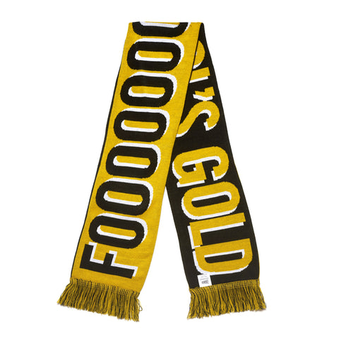 "Fool's Gold ""Goal"" Scarf"
