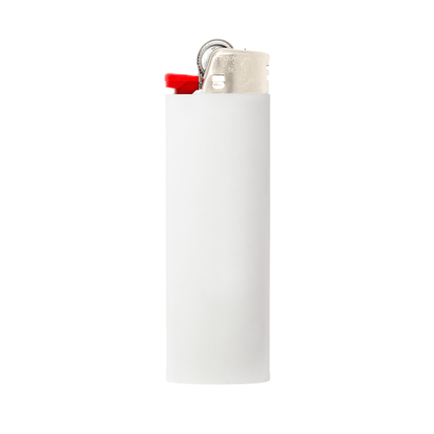 "Fool's Gold ""Alphabetical"" Lighter - White"
