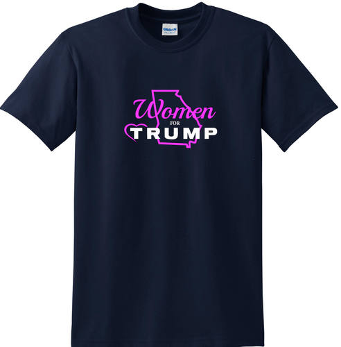 Women for Trump Georgia T-shirt