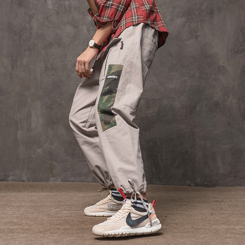 2019 Mens Fashion Baggy Tactical Trouser