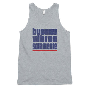 BUENAS VIBRAS SOLAMENTE | Men's Tank Top EAST OF ALTA Heather Grey XS