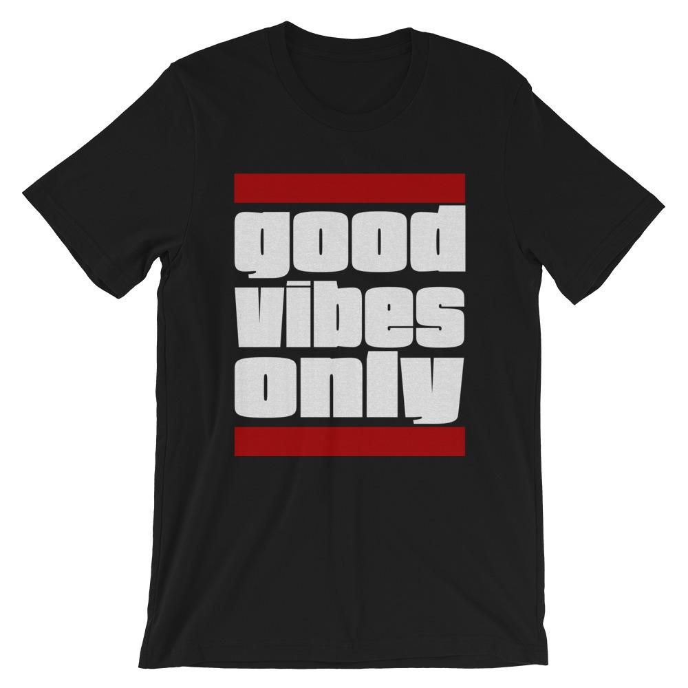GOOD VIBES ONLY | Men's Tee EAST OF ALTA Black S