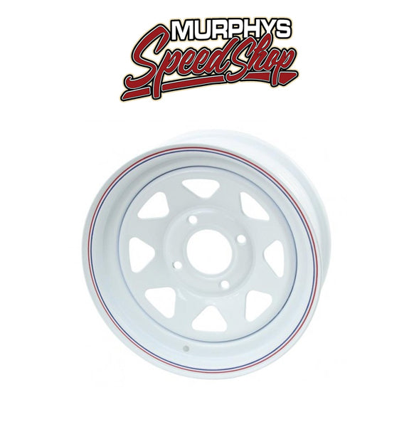 EMPI 10-1003 WHITE SPOKE 4 LUG / 6in WIDE