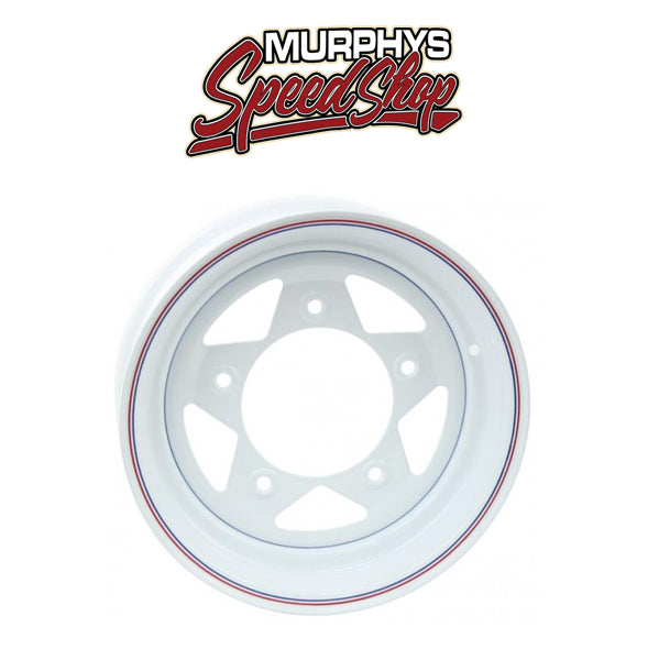 EMPI 10-1018 WHITE SPOKE 5 LUG / 10in WIDE