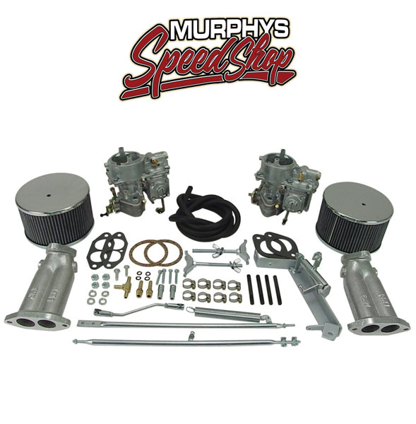EMPI 43-4400 DUAL 40 SOLEX DUAL CARBURETOR KIT