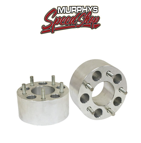 "EMPI 9485 Billet Aluminum 3"" Wheel Spacers For 5 Lug Chevy Wheel Pattern, Pair"