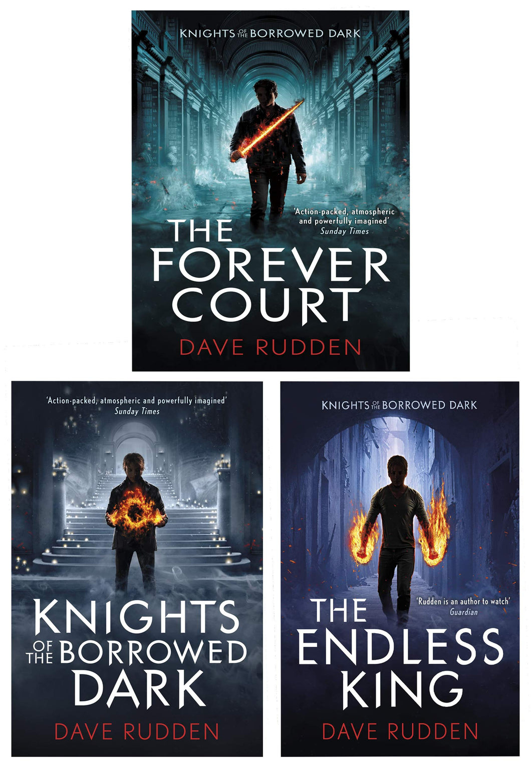 Knights Of The Borrowed Dark Trilogy 3 Books Collection