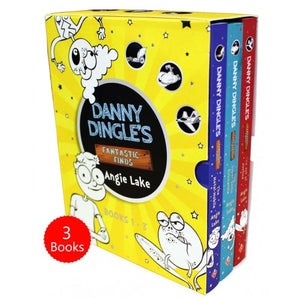 Danny Dingle Fantastic Finds 3 Books Box Set